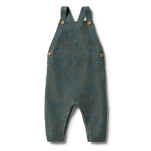 Knitted Overall - Dusty Olive Fleck - Wilson & Frenchy