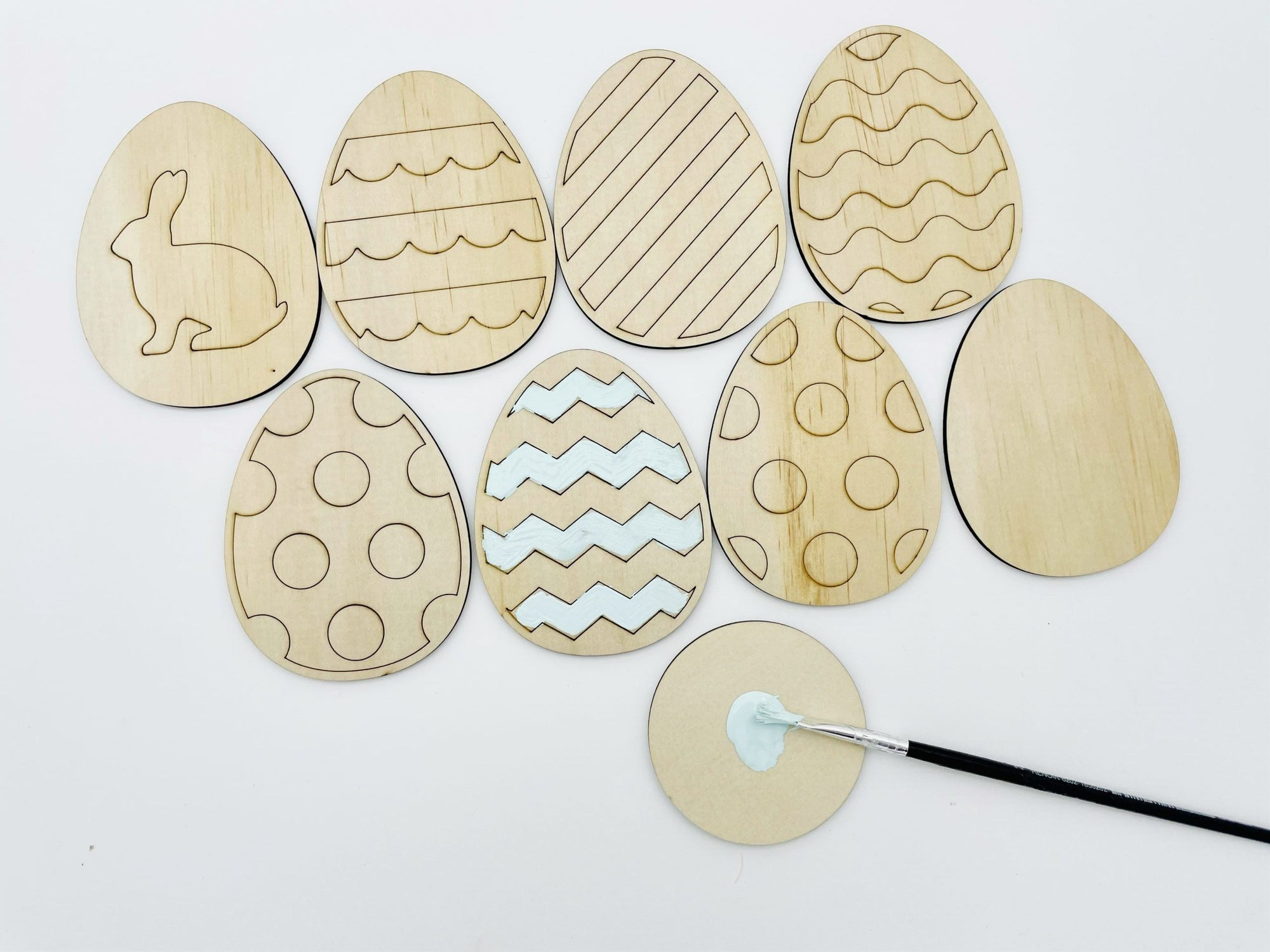 Easter Egg paint kit - Timber Tinkers