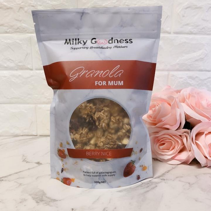 Berry Nice Lactation Granola - Milky Goodness