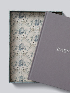Baby Journal - Mrs Mighetto Whalie Design - Write to Me