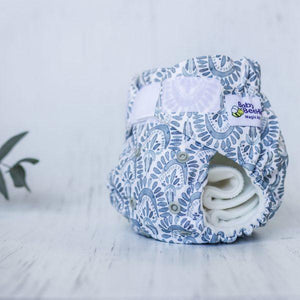 Reusable Nappy - Scallopini- Magicall All-In-Two - Baby Beehinds