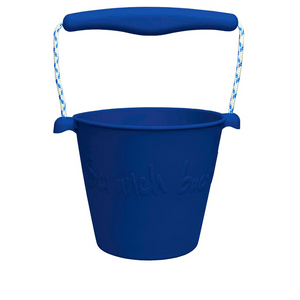 Collapsible Bucket - Midnight Blue - Scrunch