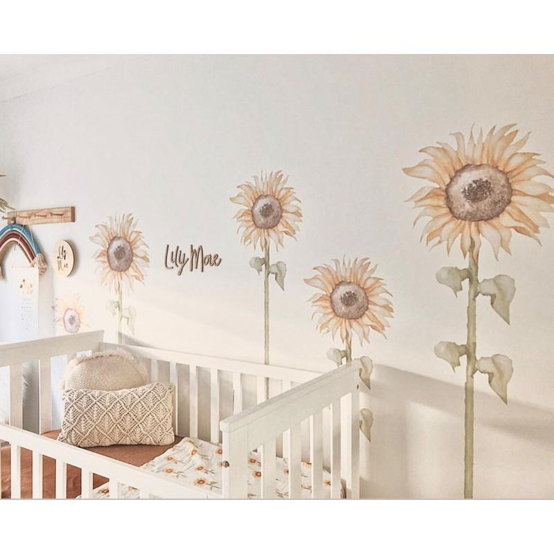 Sunflower Wall Decals - Large - Half Pack - Little Rae Prints