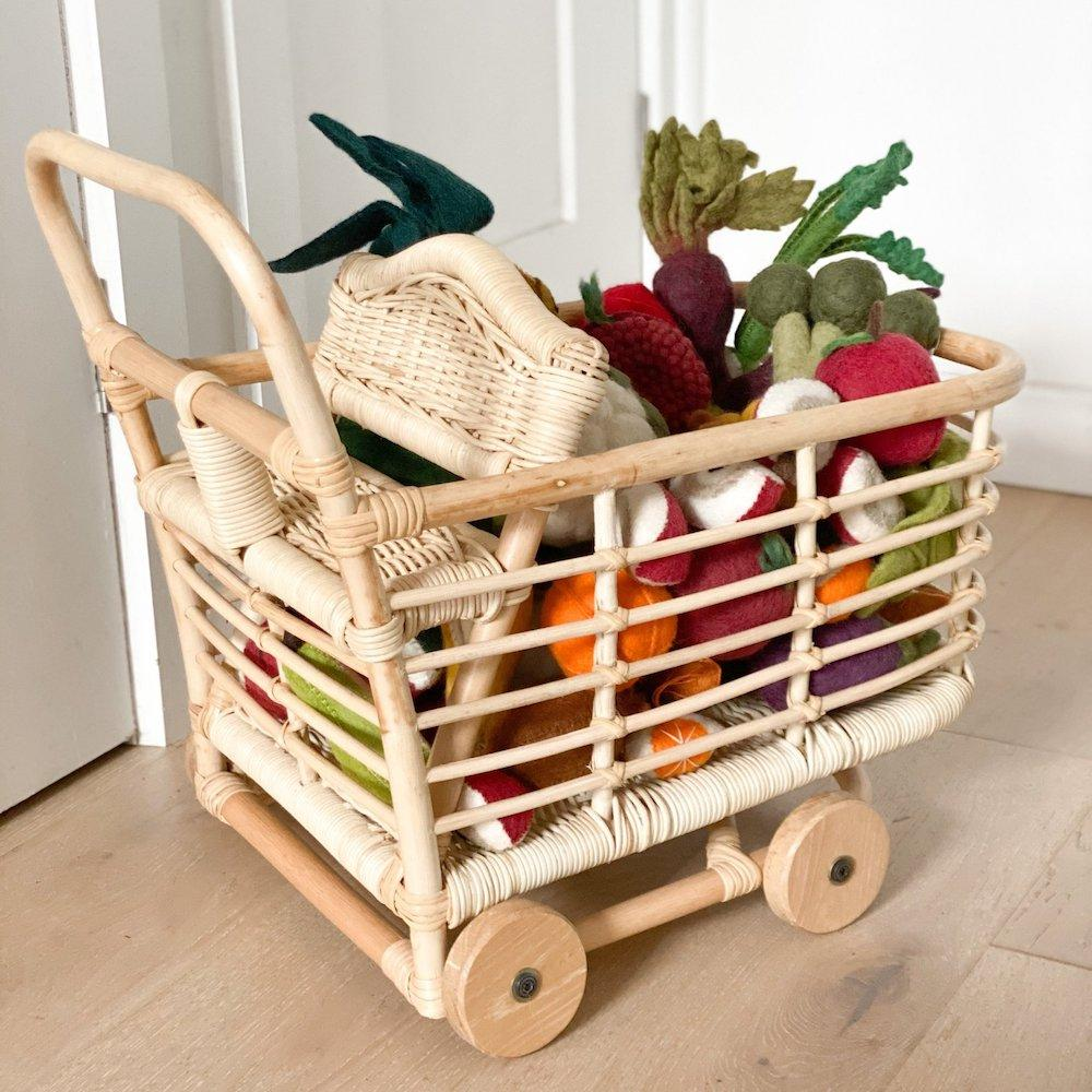 Dolls Shopping Trolley - Tiny Harlow DISCOUNTED