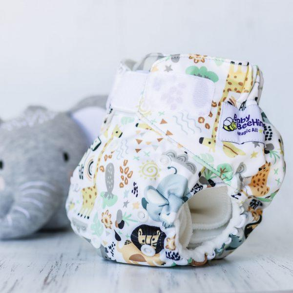 Reusable Nappy - Wild things - Magicall All-In-Two - Baby Beehinds
