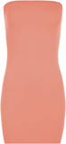 Boobtube Bodycon Mini Dress - The Celebrity Fashion