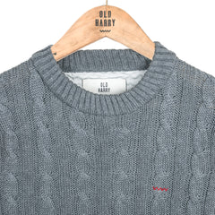 Cable Knit - Dark Grey