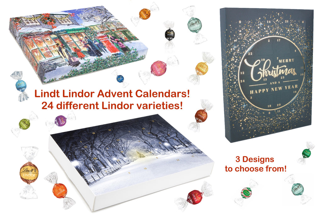 The Chocolate Emporium's Best Ever Lindt Chocolate Advent Calendars for 2019