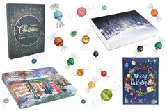The Chocolate Emporium Exclusive Lindt Lindor Chocolate Advent Calendar - only available in the UK through The Chocolate Emporium