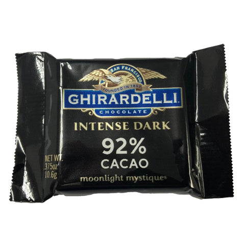 Ghirardelli 92% Dark Chocolate Squares
