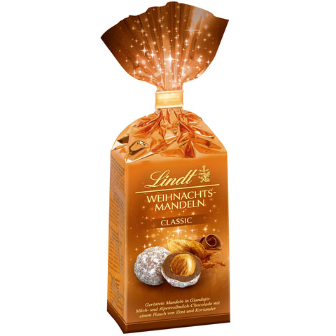 Lindt Chocolate Covered Nuts - Almonds in Milk Chocolate (100g)