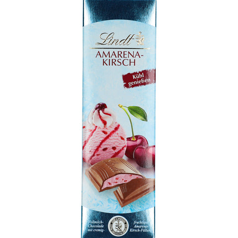 Lindt Amarena Kirsch Cherry Milk Chocolate Bar (100g)