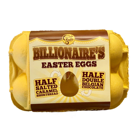 Chocolate Smiths Billionaires Easter Eggs in Egg Box (6)