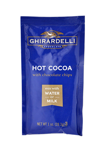 Ghirardelli Hot Cocoa & Chocolate Chips Sachet