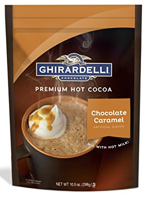 Ghirardelli Chocolate Caramel Premium Hot Chocolate (10.5oz)
