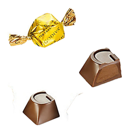 NEW! Godiva Caramel Milk Chocolate G-Cube