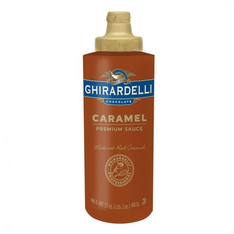 Ghirardelli Caramel Sauce 454g Squeeze Bottle