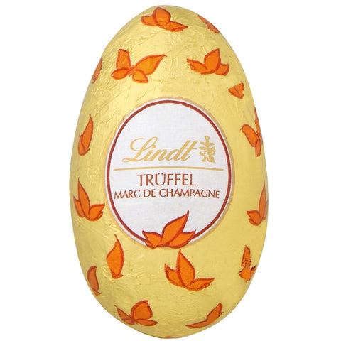 Marc de Champagne White Chocolate Lindt Egg