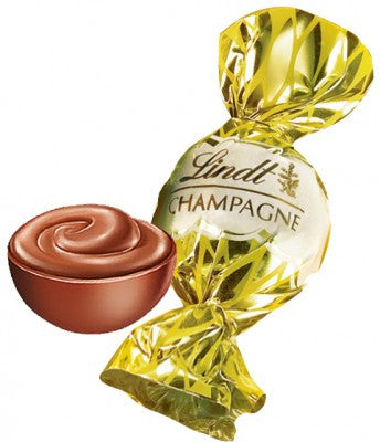 A decadent treat for your finest company! Lindt Boules Au Champagne Milk is a smooth Lindt milk chocolate shell encasing a Marc de Champagne filling. Imported from the EU and not readily available in the UK!