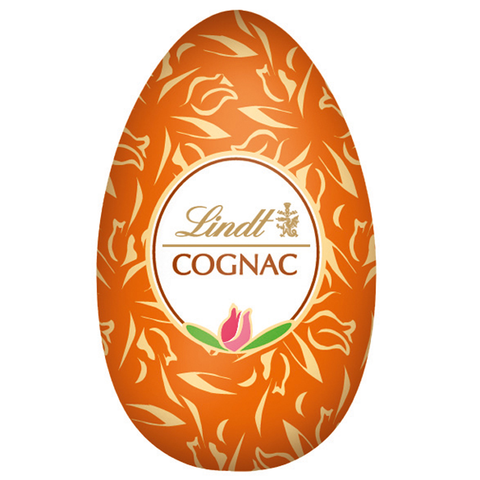 Cognac Dark Chocolate Lindt Egg