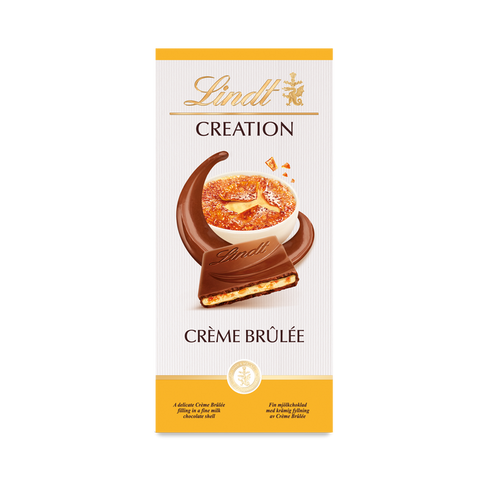 Lindt Creation - Creme Brulee - 150g Bar
