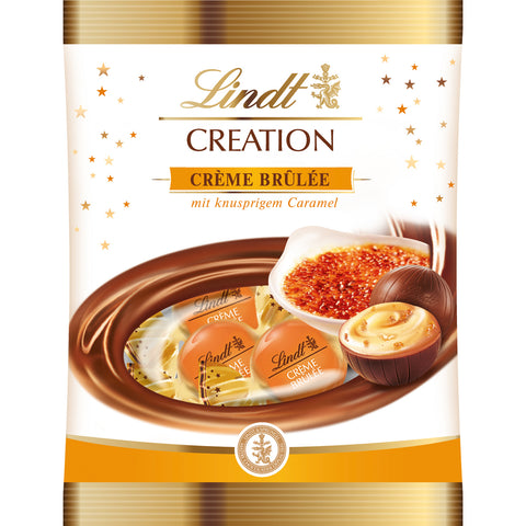 Lindt Creation Creme Brulee Balls (90g Bag)