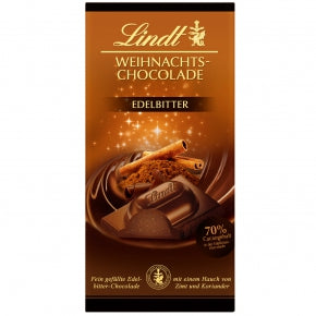 Lindt Classic Christmas Spiced Dark Chocolate Mousse Bar (100g)
