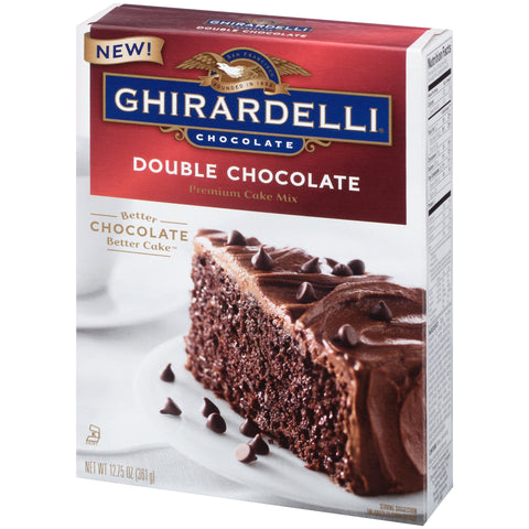 Double Chocolate Ghirardelli Cake Mix
