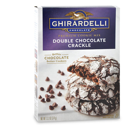 Double Chocolate Crackle Ghirardelli Cookie Mix