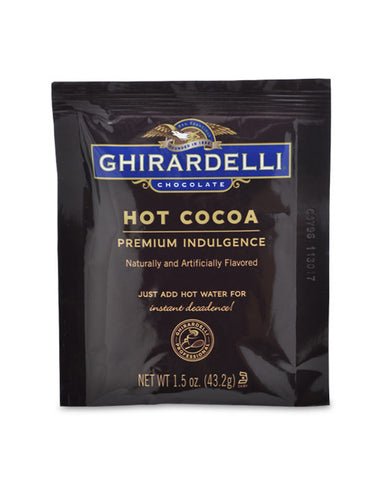 Ghirardelli Premium Indulgence Hot Cocoa (1.5oz) Best Before End May 19
