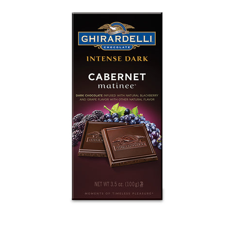 Ghirardelli Dark Chocolate Cabernet Grape Bar (100g)