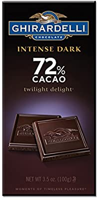 Ghirardelli 72% Dark Chocolate (100g)
