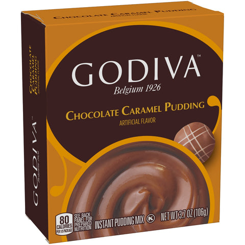 Godiva Caramel Chocolate Pudding Mix