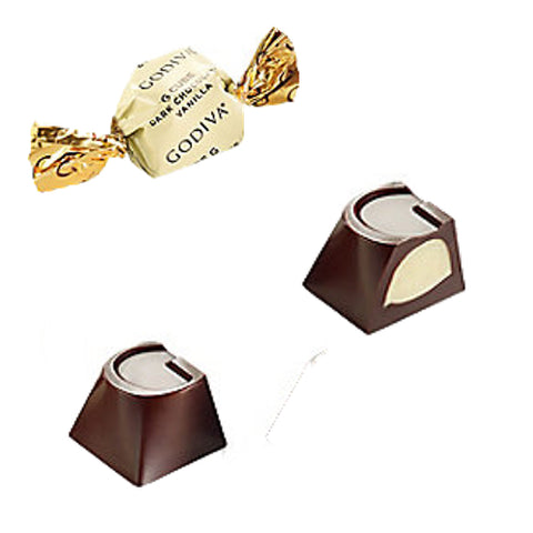 NEW! Godiva Vanilla Dark Chocolate G-Cube
