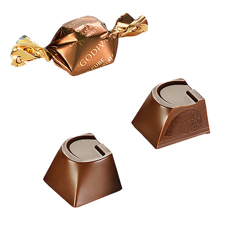 NEW! Godiva Hazelnut Milk Chocolate G-Cube
