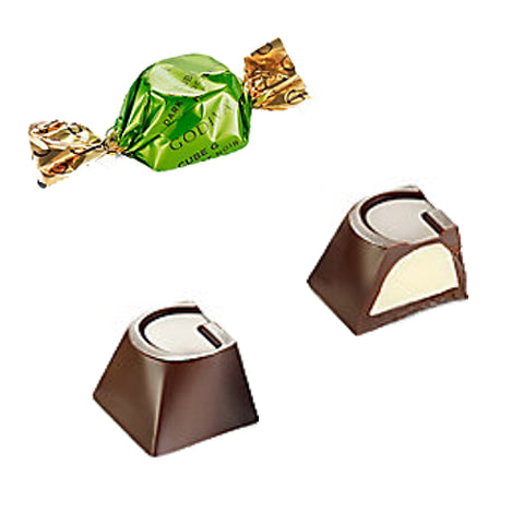 NEW! Godiva Mint Dark Chocolate G-Cube