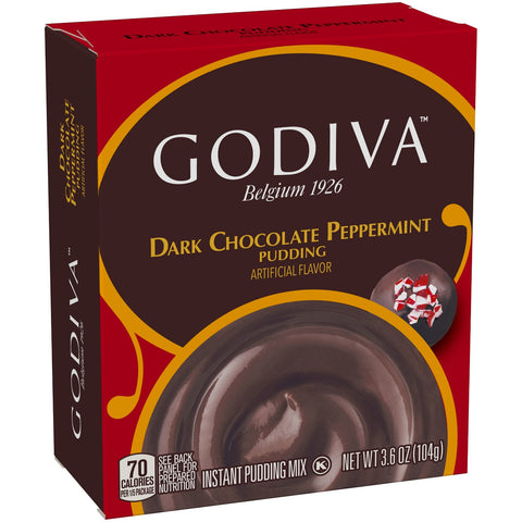 Godiva Peppermint Chocolate Pudding Mix (Best Before 22nd August 19)