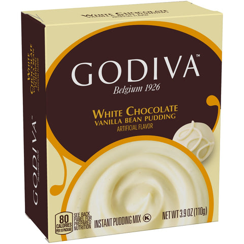 Godiva White Chocolate Pudding Mix