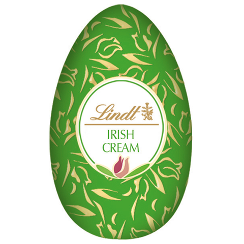 Irish Cream Milk Chocolate Lindt Egg