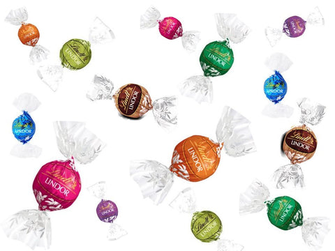 Assorted Lindt Lindor USA Truffles Selection Bag