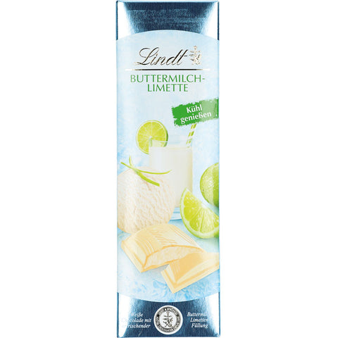 Lindt Buttermilk Lime White Chocolate 100g Bar