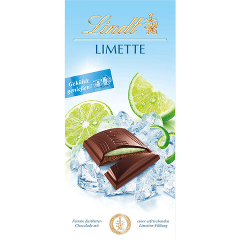 Lindt Summer Edition Lime Dark Chocolate Bar (150g)