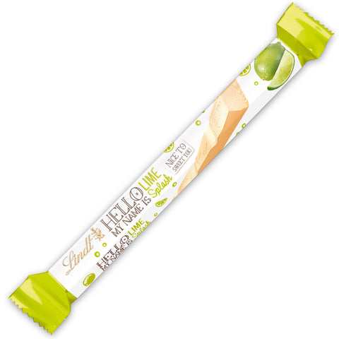 Lindt Hello Lime Splash White Chocolate Stick (39g)