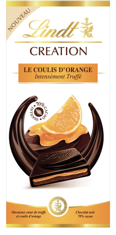 Lindt Creation - Orange Coulis Dark Chocolate - 150g Bar