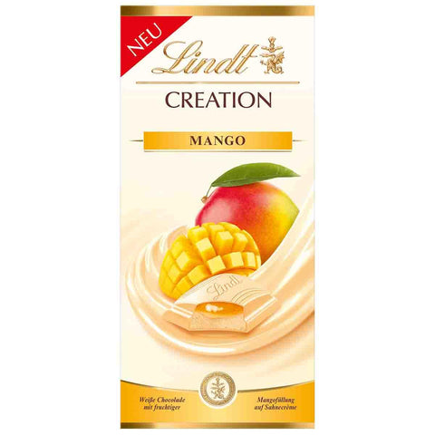 Lindt Creation - White Chocolate Mango - 150g Bar