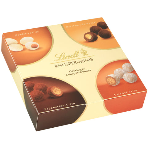 Lindt Crunchy & Crispy Chocolate Selection Gift Box (200g)