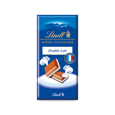Lindt Master Chocolatier - Double Milk Chocolate - 100g Bar