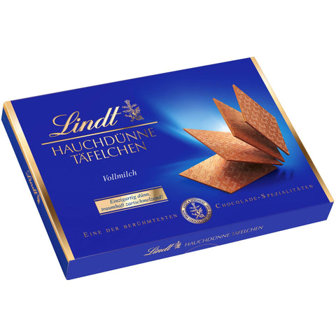Lindt Wafer Thin Milk Chocolates (125g)