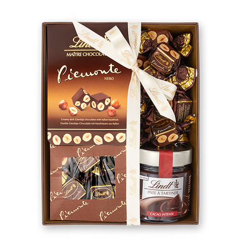 Lindt Piemonte Hazelnut Dark Chocolate Gift Box (600g)