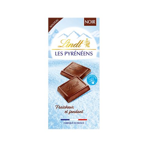Lindt Les Pyreneens - Dark Chocolate - 150g Bar